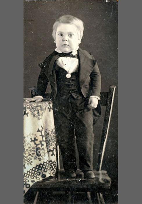 Чарльз Шервуд Страттон в возрасте 10 лет.