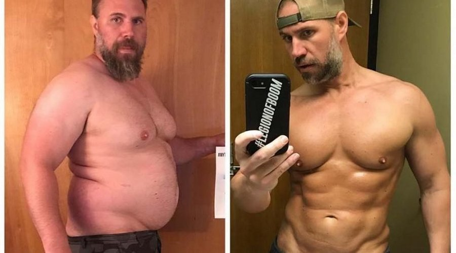 6 месяцев работы над собой и минус 37 килограммов (13 фото)
