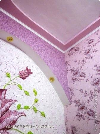 Интерьер Мастер-класс Лепка Лепка на стене №2 Бумага Гипс Краска фото 36