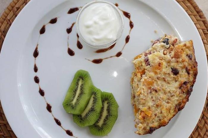 Что приготовить за завтрак: творожно-гречневая запеканка от Валерии Присяжнюк