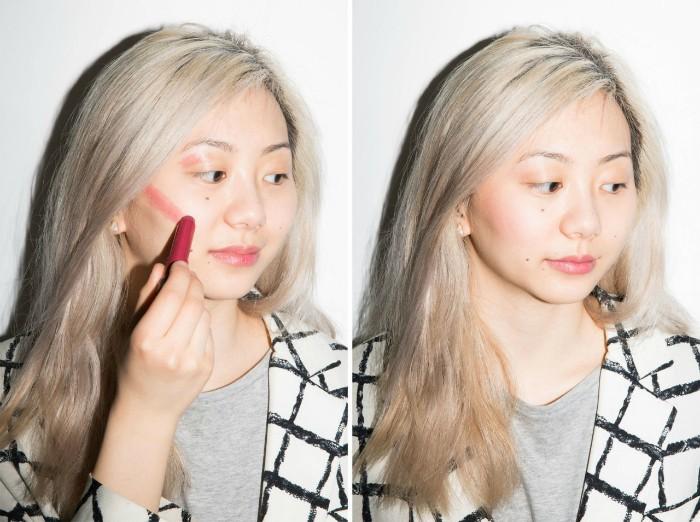В цвете: как сделать быстрый макияж с помощью только одного средства