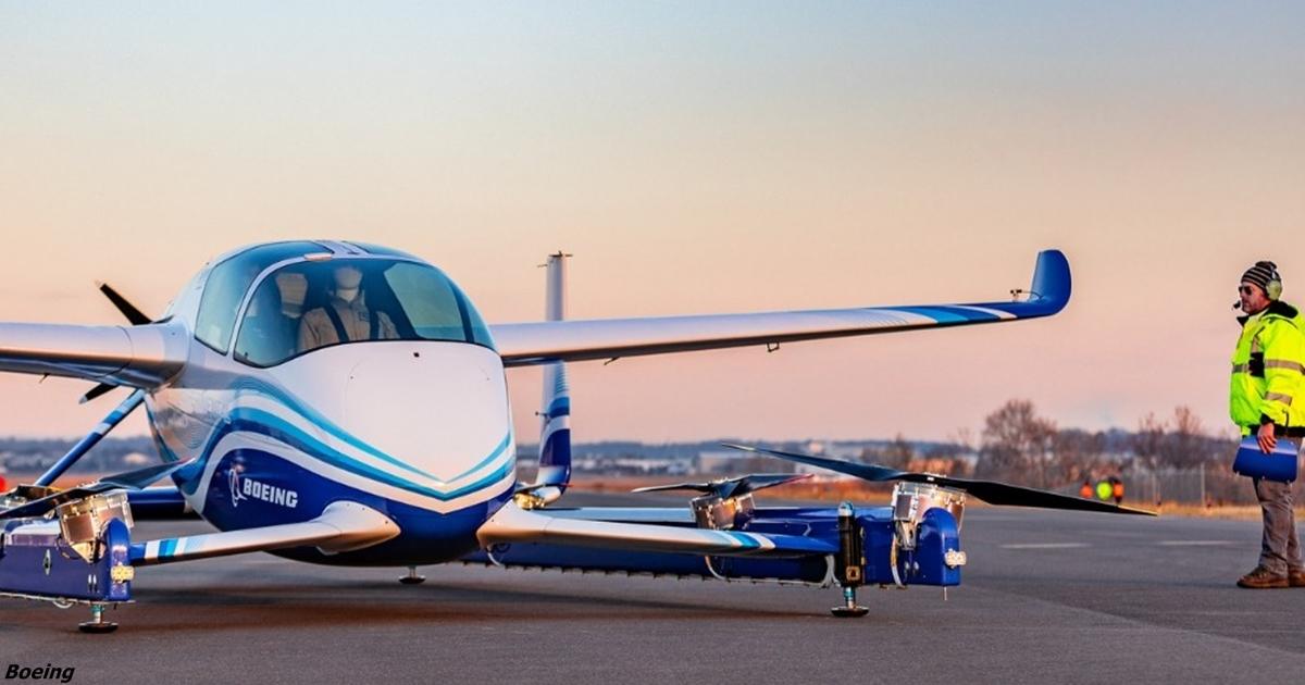 Boeing сделал первый летающий автомобиль. Он автономный, будет как такси