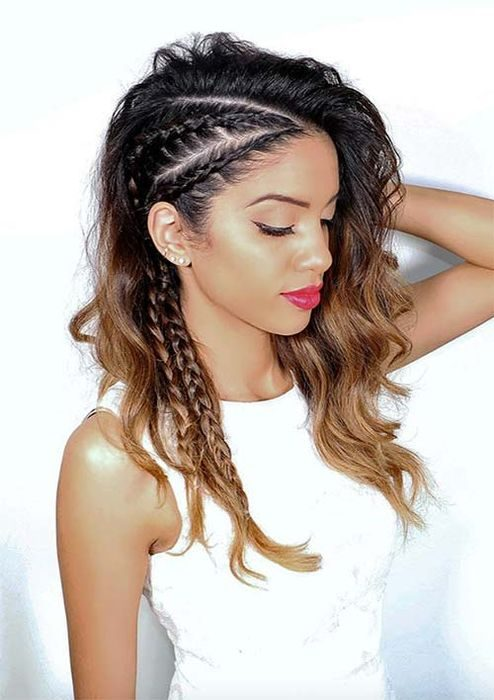 Крутые косы для обладательниц длинных волос