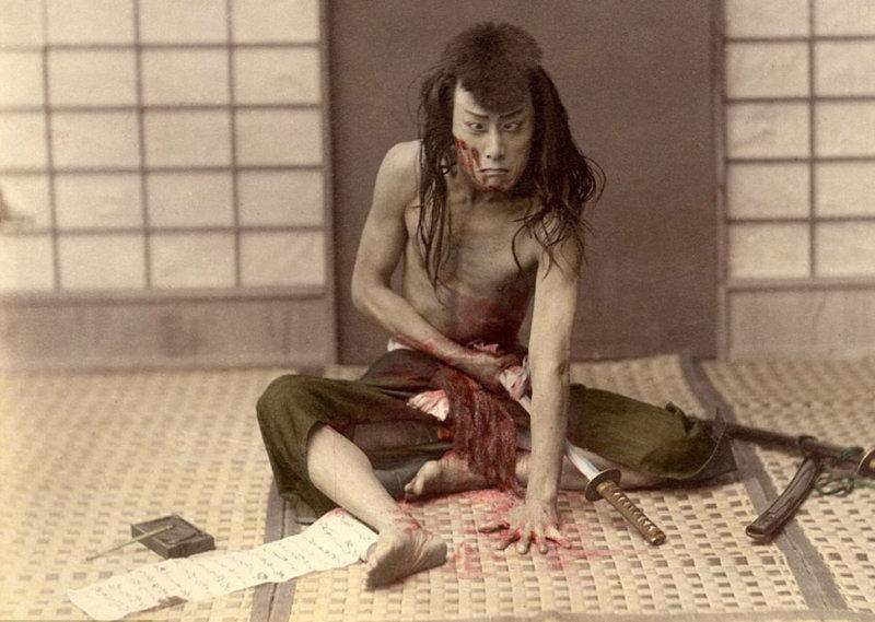 Честь дороже жизни: как самураи в Японии делали харакири
