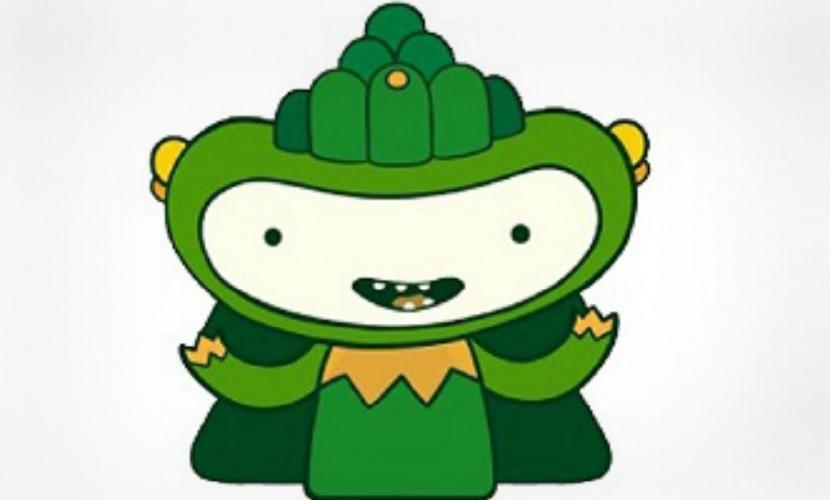 Сбербанк выбрал зеленого монстра в качестве символа для своего будущего мессенджера