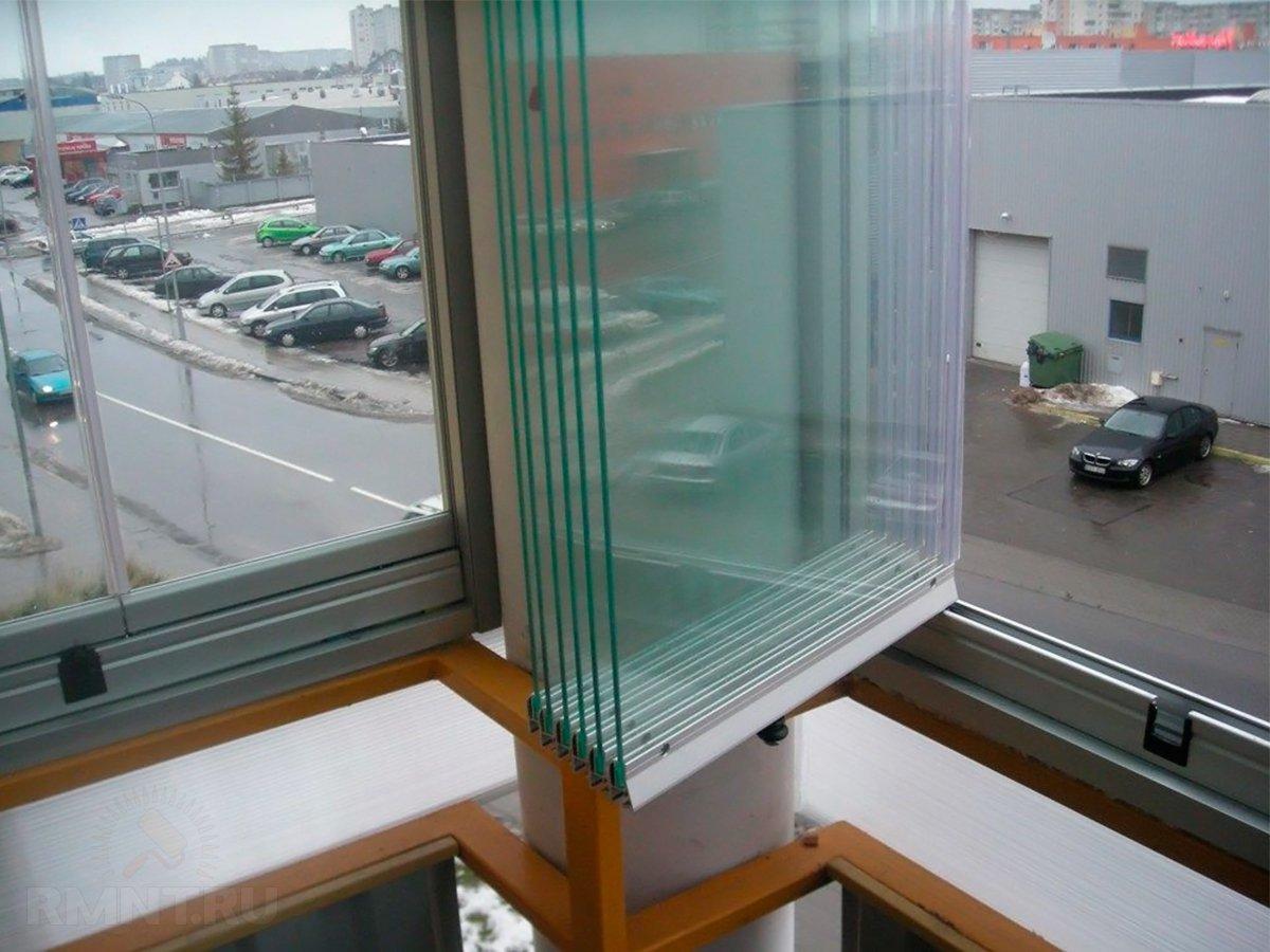 Примеры остекления балконов поворотно сдвижные системы..