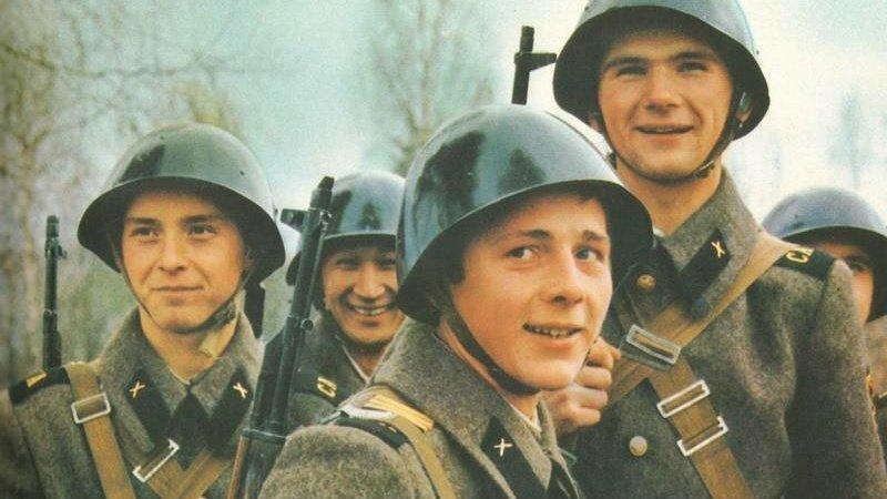 Вот уж действительно служба в радость СССР, жизнь, истории, советская армия, юмор