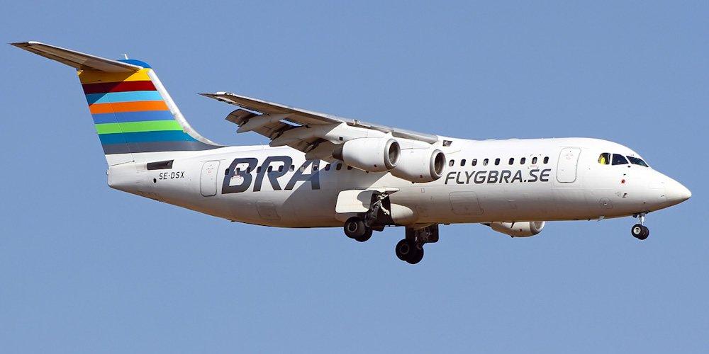 Двигатель шведского самолета…