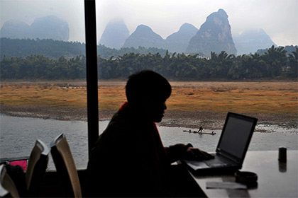 Китайские инвалиды поборются с порнографическими снимками