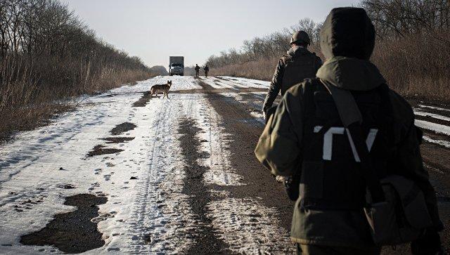 Американские наемники замечены у линии соприкосновения в Донбассе