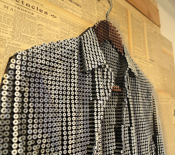 Эндрю Майерс: рубашка из шурупов