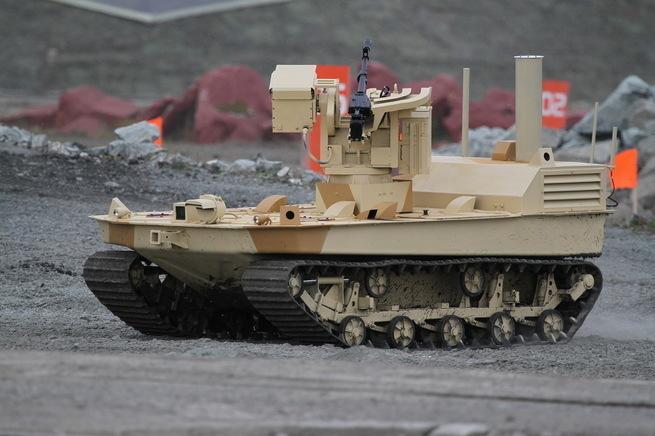 Россия будет недосягаемым лидером в области военного роботостроения