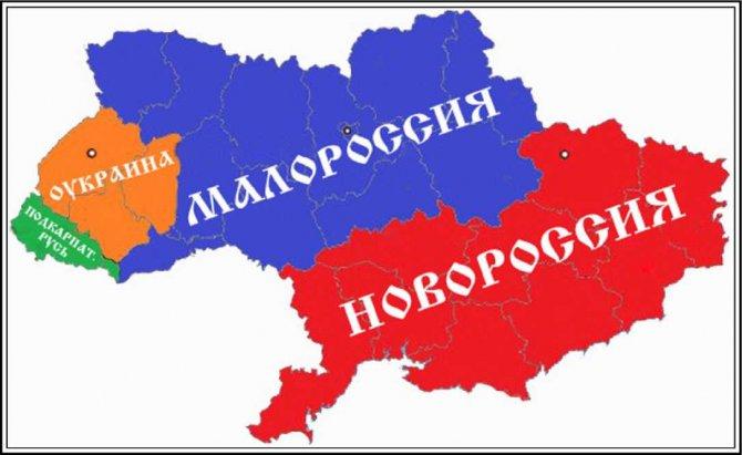 Зачем и кто придумал Малороссию
