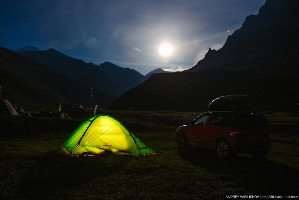 Ужасы палаточной жизни.
