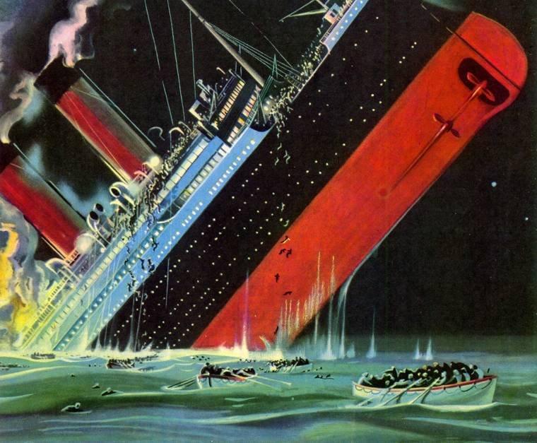 "Кто виноват в гибели ""Титаника""?"