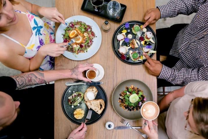Самые вкусные блюда - ресторан Industry Beans, Мельбурн, Виктория австралия, доказательство, животные, мир, природа, туризм, фотография