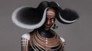 Африканская экзотика в причё…
