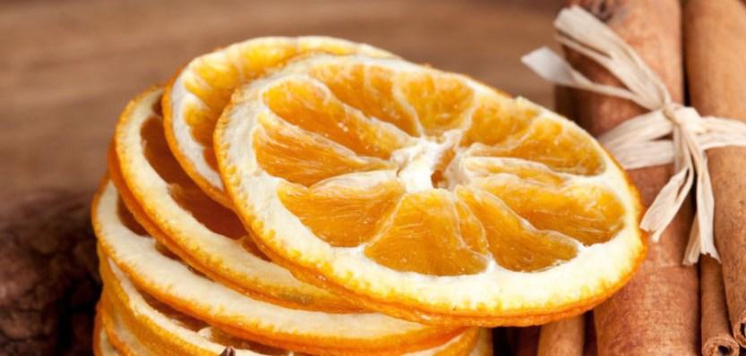 Ароматная смесь из сушеных фруктов и специй для декора
