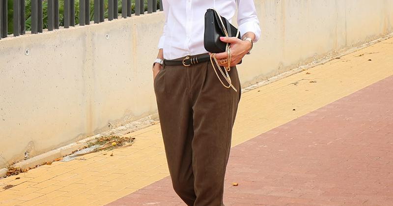 стильные брюки-багги