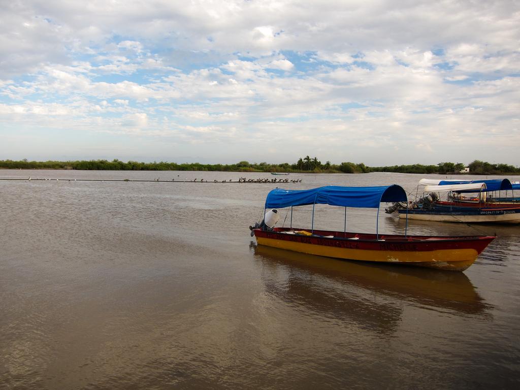 La laguna de Mexcaltitan
