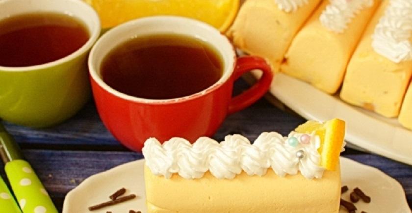 Апельсиновые муссовые пирожные: простой десерт к чаю