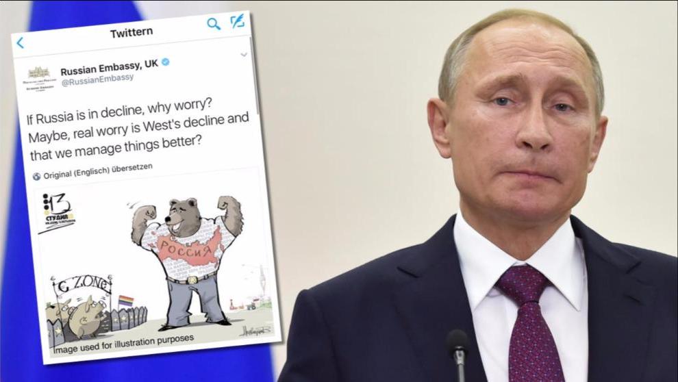Русские издеваются над «гомосексуальной» Европой. Bild, Германия