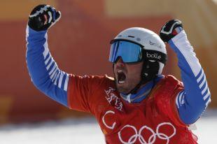 Пьер Вольтье получил «золото» в сноуборд-кроссе на Олимпиаде-2018