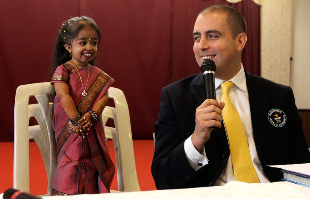 the smallest woman in the world How can the answer be improved.