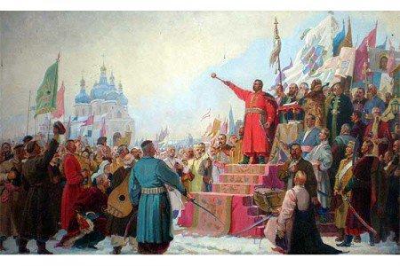 358-лет воссоединения Украины с Россией