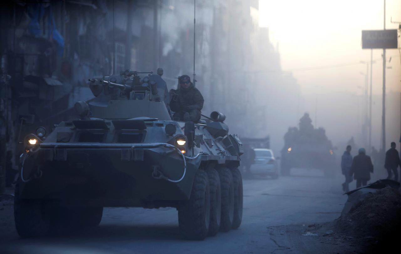 Погибли в Сирии Евгений Константинов и Александр Складан. 2017