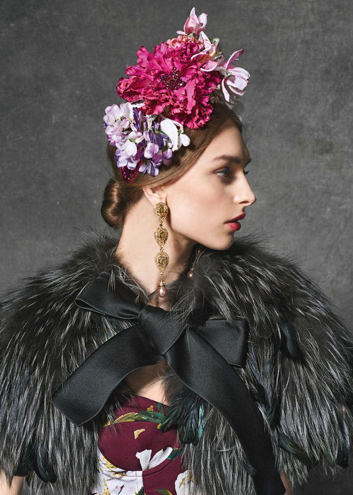 Lookbook от Dolce&Gabbana pret-a-porte осень-зима 2016-2017 — «Evening» (Вечер)