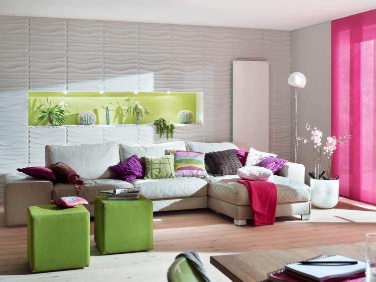 Эти 3-D панели для стен могут полностью преобразить вашу квартиру