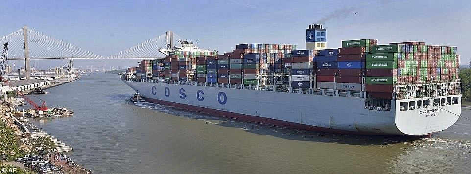 Контейнеровоз COSCO Development