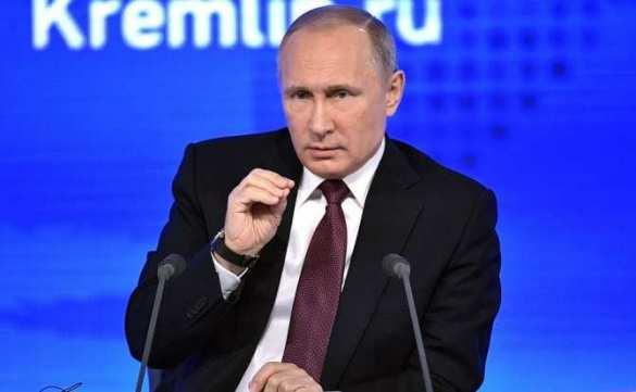 Путин полагает, что цена нефти будет 55долларов забаррель