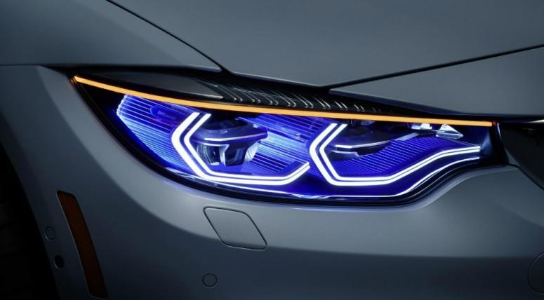 В Лас-Вегасе показали обновленные лазерные фары BMW