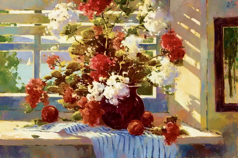 Яркая радость жизни в картинах Мэрилин Симандл(Marilyn Simandle)