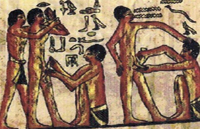 Обрезание в древнем египте