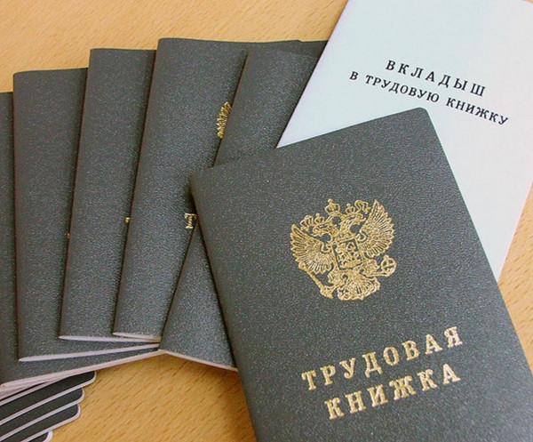 В России отменят трудовые книжки