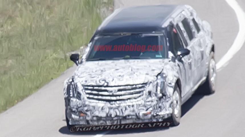 Новый лимузин президента США заметили во время тестов