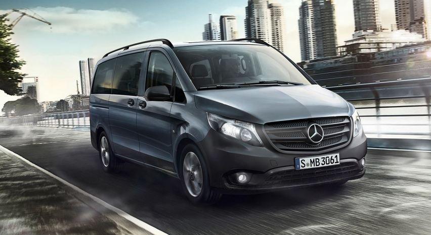 Mercedes-Benz начал продажи новых микроавтобусов Vito Life в России