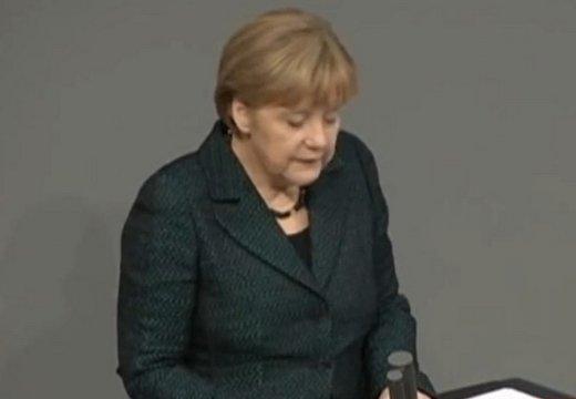 Оппозиция «разгромила» антироссийское выступление Меркель