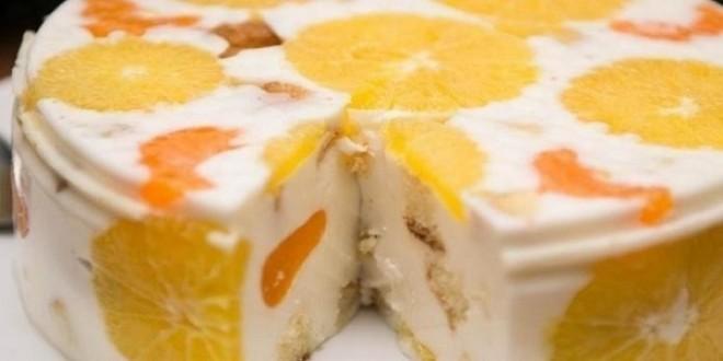 Желейный торт «Фруктовый Новый год» Любители желейных тортов будут в восторге