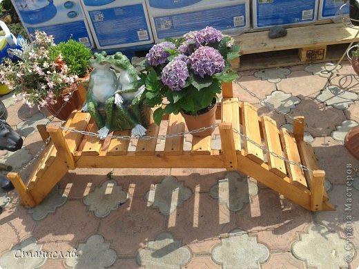 Как сделать мост своими руками для сада
