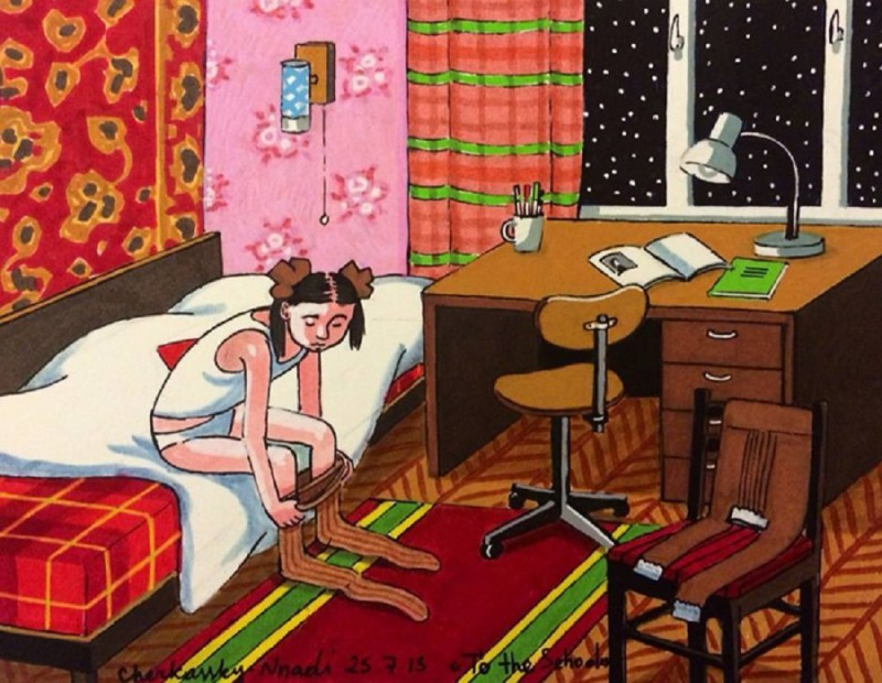 СССР в миниатюрах: еще одна порция ностальгии от израильской художницы
