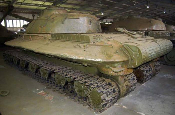 Объект 279 - советский тяжелый танк, выпущенный в единственном экземпляре