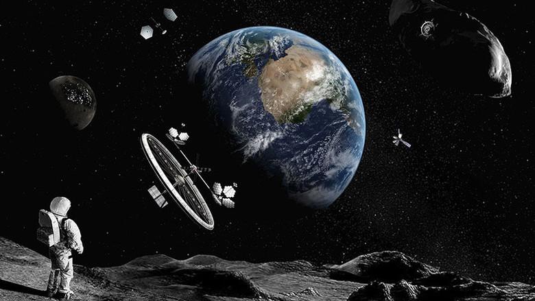 Россия, США, Европа, Япония и Канада разрабатывают лунную орбитальную станцию
