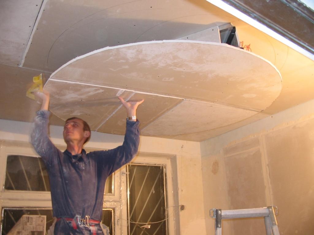 подвесные потолки из гипсокартона запорожье 6
