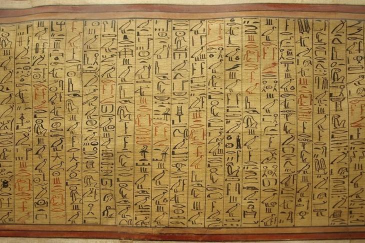 Египетский папирус оказался …