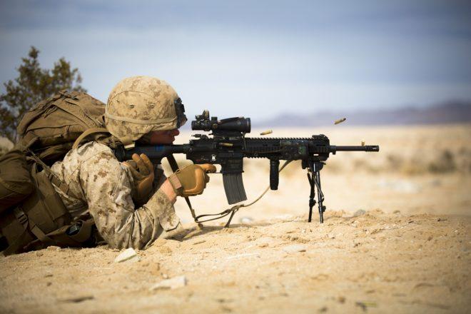 Корпус морской пехоты США планирует закупить 50000 автоматических винтовок Heckler & Koch НК416