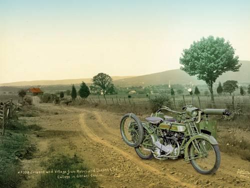 Двухколесная угроза: Бронированные мотоциклы